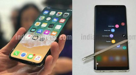 iPhone X so gang cung Galaxy Note 8: Ai ngon hon? - Anh 1