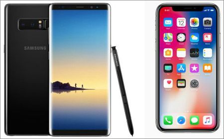 iPhone X so gang cung Galaxy Note 8: Ai ngon hon? - Anh 3