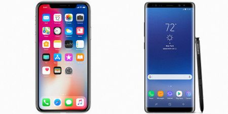 iPhone X so gang cung Galaxy Note 8: Ai ngon hon? - Anh 9