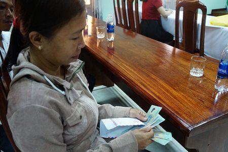 Vu bao hiem bi to cham boi thuong: Da tra tien cho nong dan - Anh 3