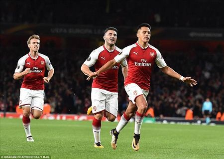 Arsenal 3-1 Cologne: Chien cong dau tien cua Sanchez - Anh 1