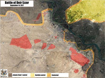 Phien quan IS ben bo vuc sup do o Deir Ezzor - Anh 9