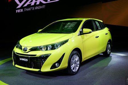 Toyota Yaris 2017 gia tu 329 trieu dong tai Thai Lan - Anh 1