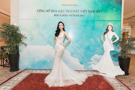 Ha Thu chinh thuc nhan trong trach tham gia dau truong nhan sac Miss Earth 2017 - Anh 1