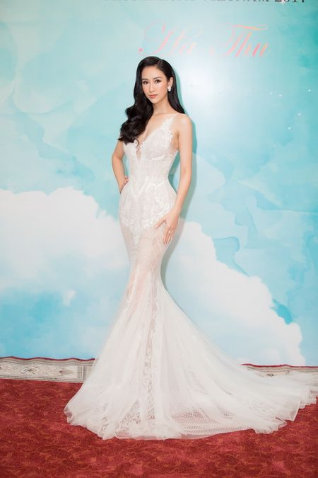Ha Thu chinh thuc nhan trong trach tham gia dau truong nhan sac Miss Earth 2017 - Anh 2