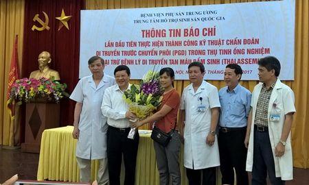 Lan dau tien, Viet Nam sang loc thanh cong phoi thai mac benh mau nguy hiem - Anh 1