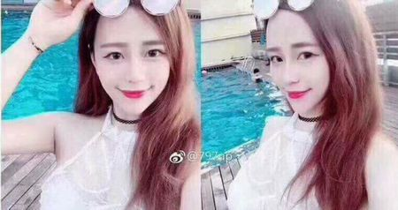Chang trai 'bat ngua' khi vo tinh chung kien nhan sac hot girl ngoai doi that - Anh 1