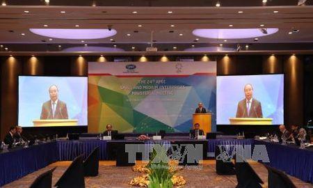 Thu tuong: Doanh nghiep nho va vua - dong luc tang truong kinh te APEC - Anh 1