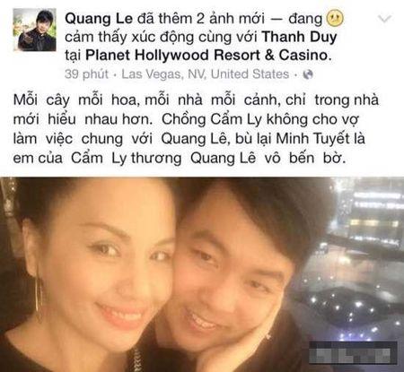 "Quang Le se lai thanh ""tham hoa"" tren ghe nong? - Anh 1"