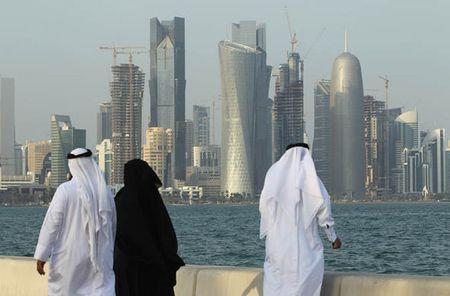 Bi lang gieng co lap, Qatar phai dung den 38 ty USD du tru - Anh 1