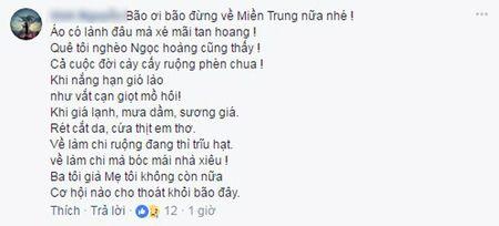 Xuc dong nhung van tho tran chua tinh cam huong ve mien Trung ngay bao so 10 do boXuc dong nhung van tho chan chua tinh cam huong ve mien Trung ngay bao so 10 do bo - Anh 2
