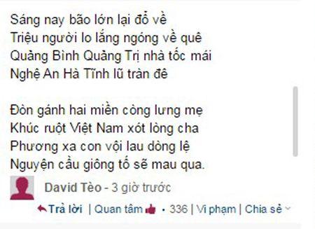 Xuc dong nhung van tho tran chua tinh cam huong ve mien Trung ngay bao so 10 do boXuc dong nhung van tho chan chua tinh cam huong ve mien Trung ngay bao so 10 do bo - Anh 4