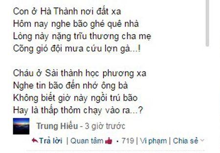 Xuc dong nhung van tho tran chua tinh cam huong ve mien Trung ngay bao so 10 do boXuc dong nhung van tho chan chua tinh cam huong ve mien Trung ngay bao so 10 do bo - Anh 5
