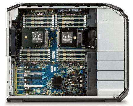 HP gioi thieu may tram Z8: co the nang cap len 3TB RAM va 48TB bo nho trong - Anh 4