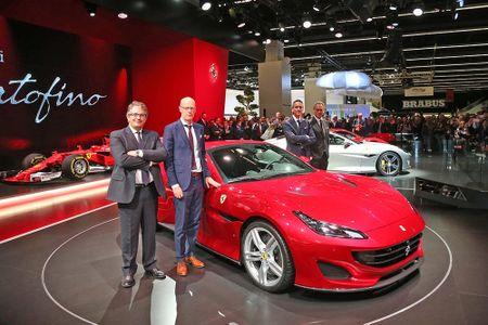 Sieu xe Ferrari Portofino lan dau ra mat cong chung - Anh 4