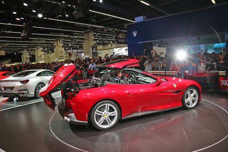 Sieu xe Ferrari Portofino lan dau ra mat cong chung - Anh 9