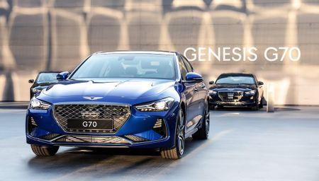 Ra mat xe sang Genesis G70 'dau' Mercedes-Benz C-Class - Anh 1