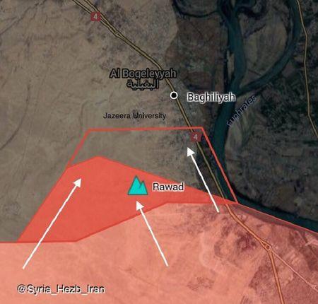 Quan doi Syria bang qua Euphrates danh IS, nguoi Kurd dua chiem dat (video) - Anh 2