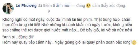 Dam cuoi vua xong, Le Phuong nuc no nho ve qua khu dau buon voi chong cu - Anh 1