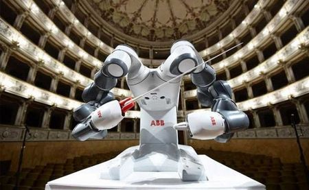 Mot dan nhac duoc chi huy boi nhac truong Robot - Anh 4