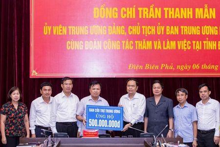 MTTQ Viet Nam sat canh cung nhan dan mien Trung ung pho voi bao so 10 - Anh 1