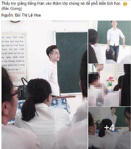 Thay giao Viet dep nhu trai Han lam chao dao MXH - Anh 1