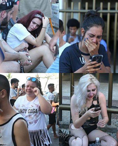 Fan nuc no khi Lady Gaga huy dien vi benh nang - Anh 2