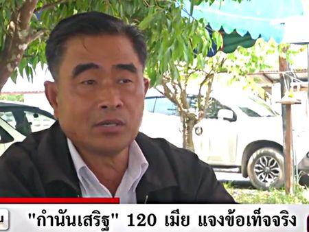 Nguoi dan ong co 120 vo o Thai Lan - Anh 1
