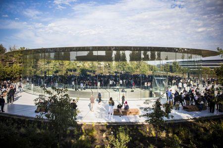 Phi thuyen Apple Park: Nhung hinh anh dau tien - Anh 1
