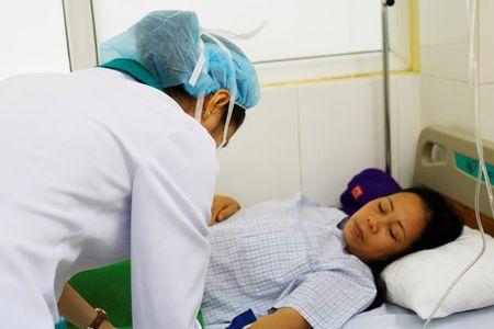 9 du khach nghi bi ngo doc thuc pham o Da Nang - Anh 1