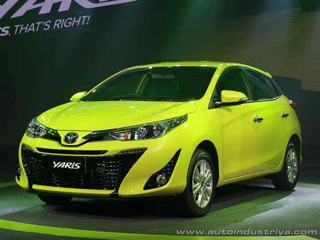 Toyota Yaris 2017 co gia khoi diem 329 trieu dong - Anh 1