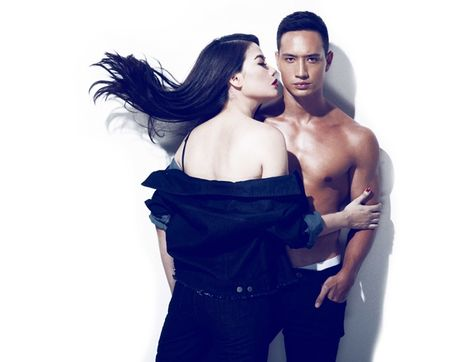Chang can khoe than, Truong Ngoc Anh da tung co suc hut the nay - Anh 4