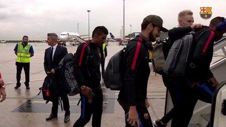 Messi, Suarez khong mot chut lo au khi den Madrid, chuan bi dau Getafe - Anh 2