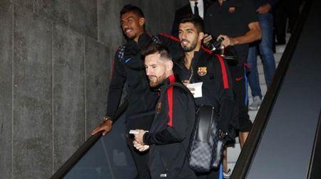 Messi, Suarez khong mot chut lo au khi den Madrid, chuan bi dau Getafe - Anh 5