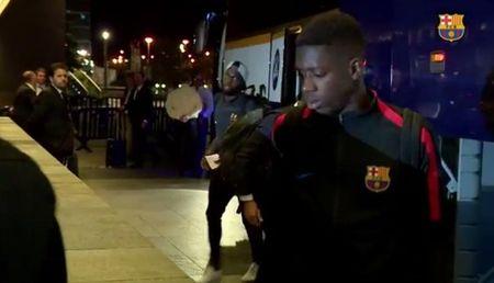 Messi, Suarez khong mot chut lo au khi den Madrid, chuan bi dau Getafe - Anh 7