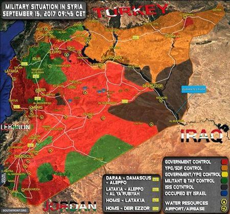 IS mat 70% lanh tho o Syria ke tu dau nam 2017 - Anh 1