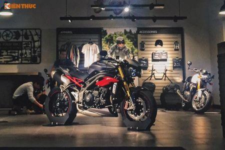 Moto Triumph Speed Triple R chinh hang gia 699 trieu tai VN - Anh 1