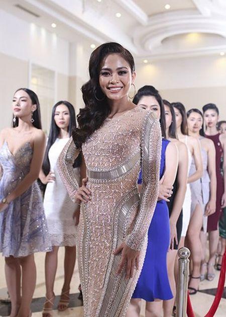 Hoang Thuy thang giai dau tien tai Hoa hau Hoan vu Viet Nam - Anh 6