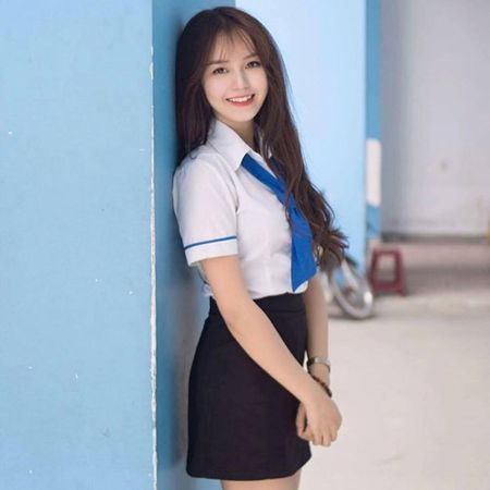 Gai xinh khoa IT truong DH Cong nghe Thuc pham khoe sac - Anh 1