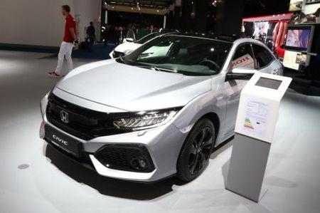 Xe oto Honda Civic diesel 'uong' chi 3,7 lit xang/100 km - Anh 1