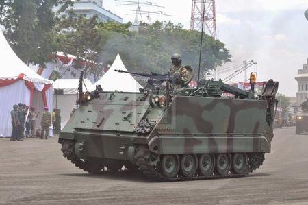 Indonesia nhan thiet giap M113 phien ban 'boi lan' dau tien - Anh 3