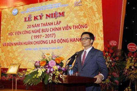 Hoc vien Cong nghe Buu chinh vien thong nhan Huan chuong Lao dong hang Nhat - Anh 1