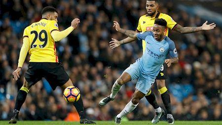 Truc tiep Watford vs Manchester City vong 5 Ngoai Hang Anh - Anh 1