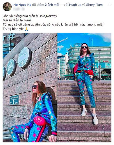 Kim Ly - Ho Ngoc Ha cong khai tinh tu moi luc moi noi - Anh 4