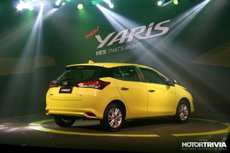 Toyota gioi thieu mau Yaris 2017 tai Thai Lan, gia ban khoang 319 trieu dong - Anh 2