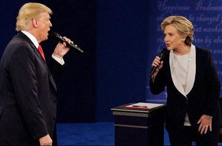 Hillary Clinton - Noi dau khon nguoi (*): 'Noi da ga' voi ong Donald Trump - Anh 1