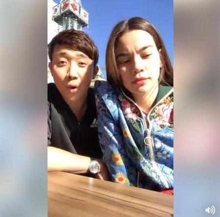 Cung di cong tac, Ha Ho tiet lo Tran Thanh mat het hanh ly tai Na Uy - Anh 1