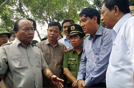 Thu tuong chi dao cong tac khac phuc mua bao tai Nghe An - Anh 1