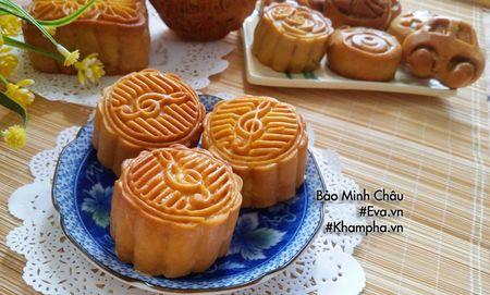 Cach lam banh nuong trung thu nhan sua dua chay cho Tet Trung thu - Anh 8