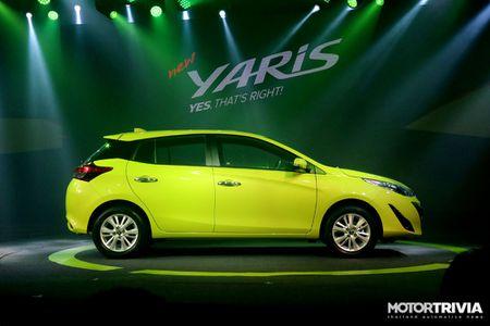 Toyota Yaris moi ra mat tai Thai Lan, gia tu 14.800 USD - Anh 3